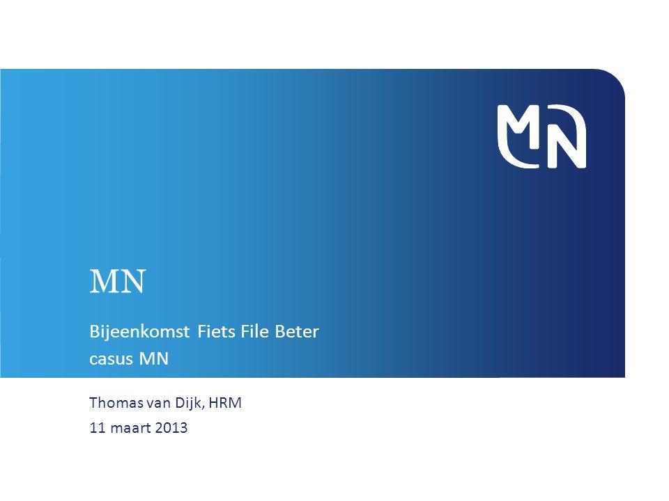 MN Bijeenkomst Fiets File Beter casus MN Thomas van Dijk, HRM 11 maart 2013