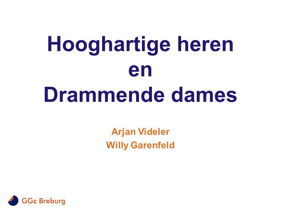 Hooghartige heren en Drammende dames Arjan Videler Willy Garenfeld