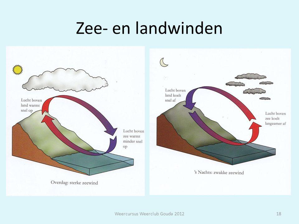 Zee- en landwinden Weercursus Weerclub Gouda 201218
