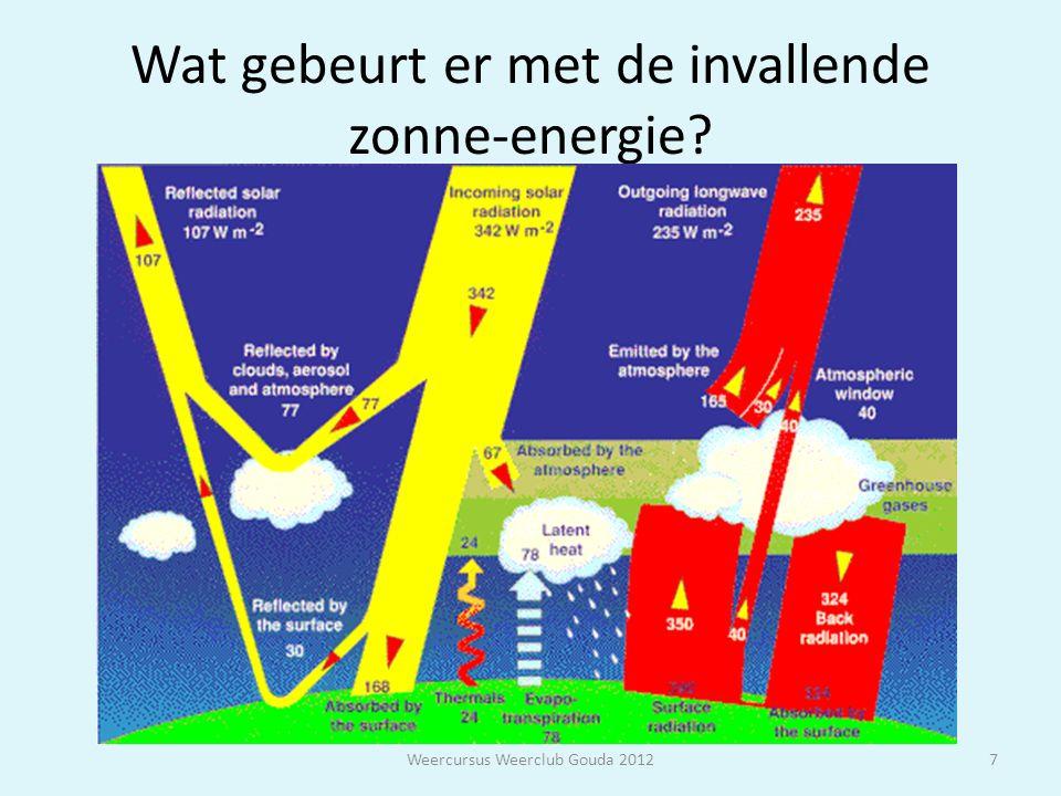 WOLKEN Weercursus Weerclub Gouda 201228 Wolken bestaan uit al dan niet onderkoelde waterdruppels of ijsdruppels die condensatie of sublimatie zijn ontstaan.