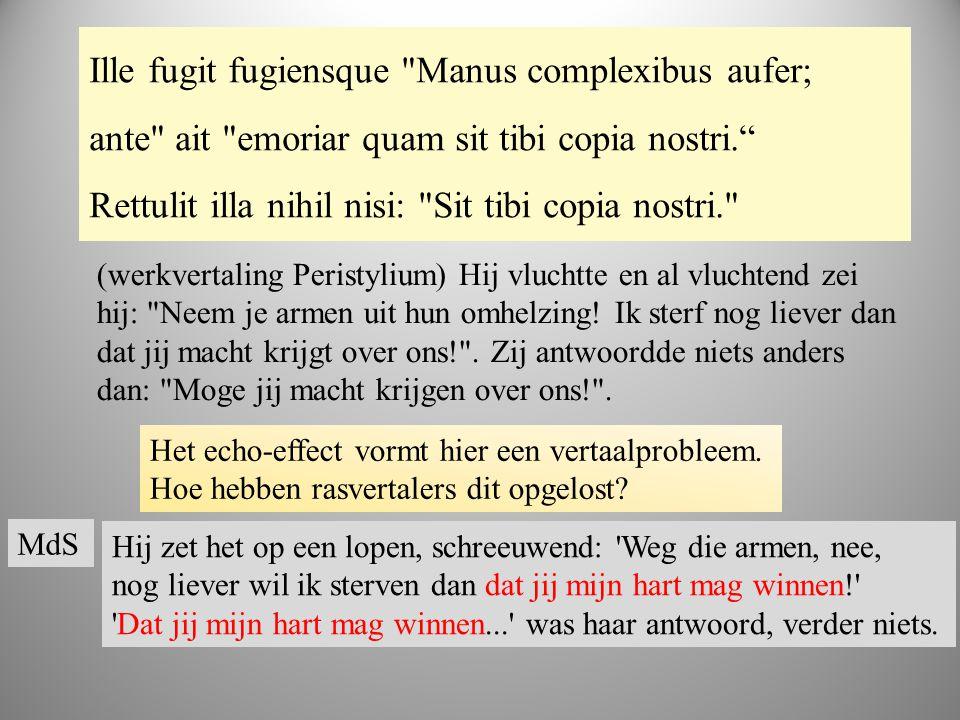 boek 2 Ille fugit fugiensque