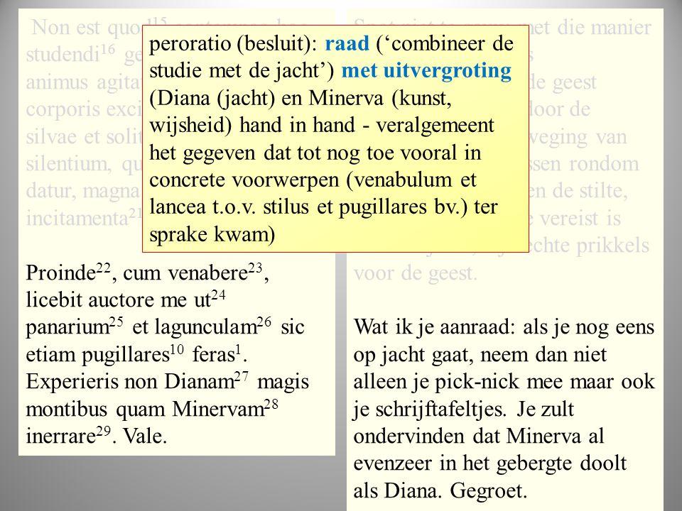 tekst1 Non est quod 15 contemnas hoc studendi 16 genus; mirum est, ut animus agitatione 17 motuque corporis excitetur; iam 18 undique silvae et solitu