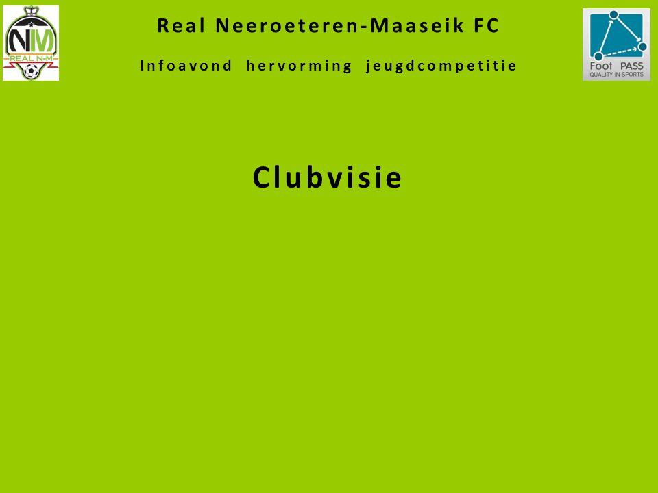 Real Neeroeteren-Maaseik FC Infoavond hervorming jeugdcompetitie Clubvisie