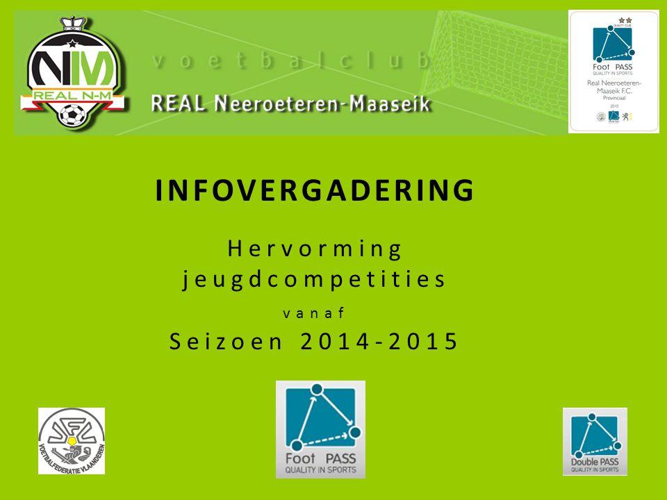 INFOVERGADERING Hervorming jeugdcompetities vanaf Seizoen 2014-2015