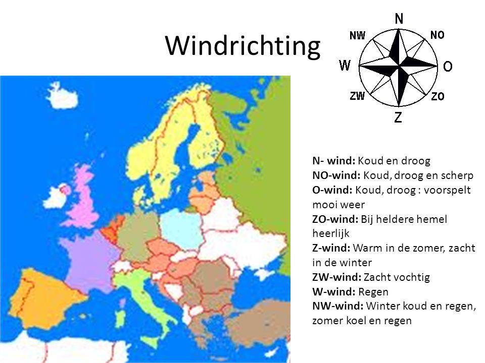Luchtdruk Weerkaart -Hoge luchtdrukgebieden en lage luchtdrukgebieden - isobaren: lijnen die punten met dezelfde luchtdruk verbinden