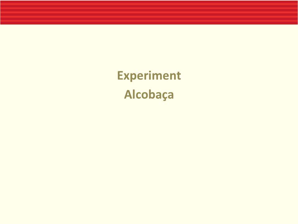 Experiment Alcobaça