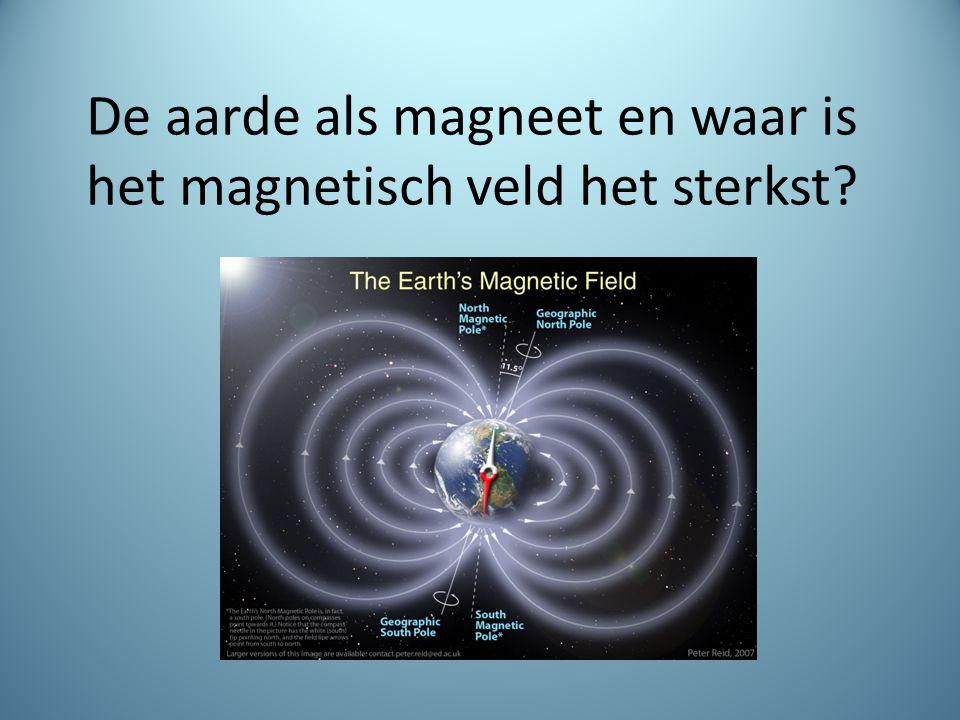 De aarde is een grote magneet.