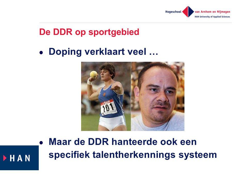 Wat kunnen we leren van selectiesysteem DDR.
