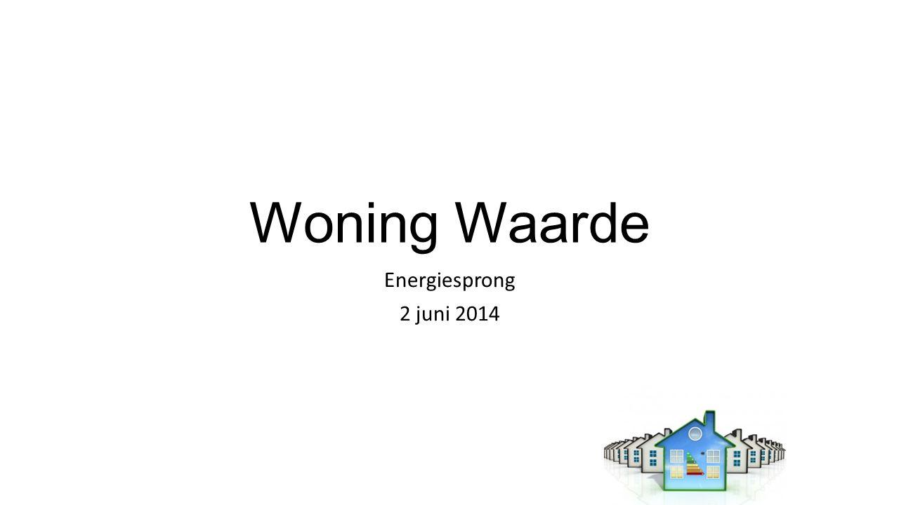 Woning Waarde Energiesprong 2 juni 2014