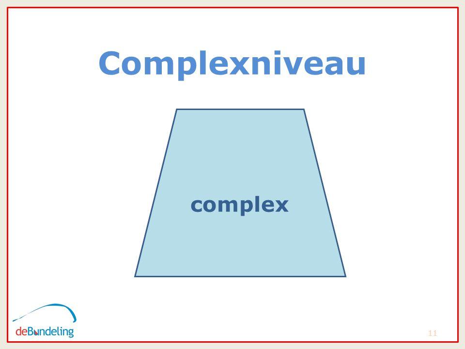 complexniveau Complexniveau 11 complex