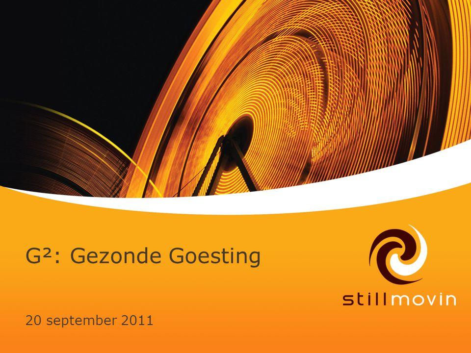G²: Gezonde Goesting 20 september 2011