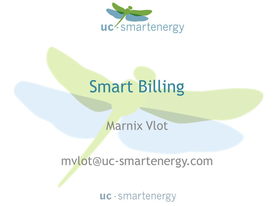 Smart Billing Marnix Vlot