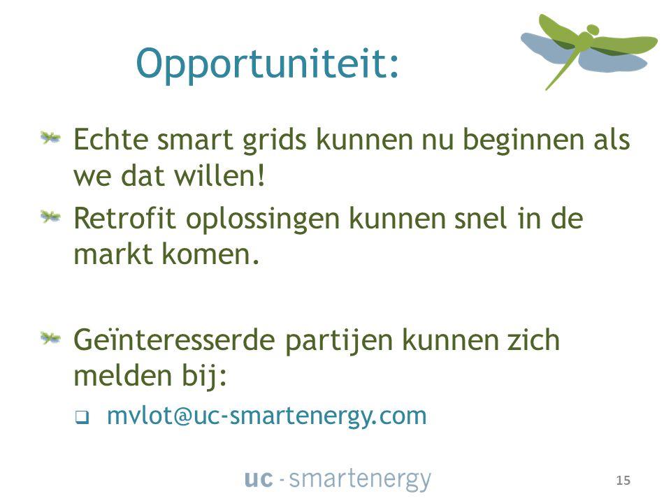 Opportuniteit: Echte smart grids kunnen nu beginnen als we dat willen.