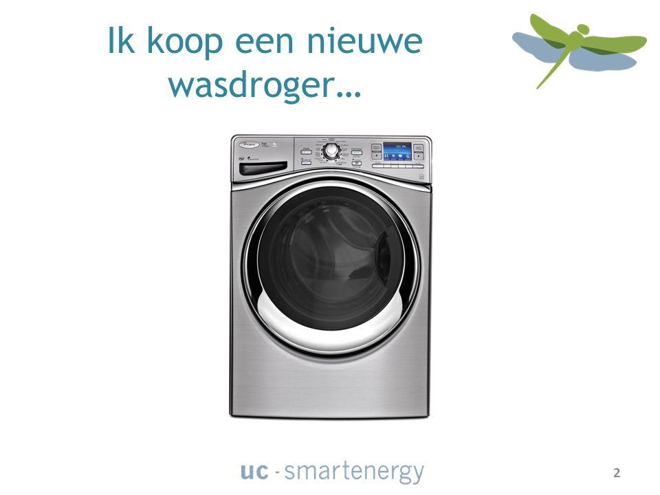 Ik koop een nieuwe wasdroger… 2