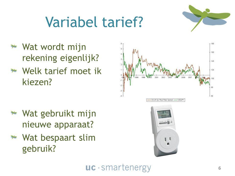DANK VOOR UW AANDACHT You can find us on: www.uc-smartenergy.com 17