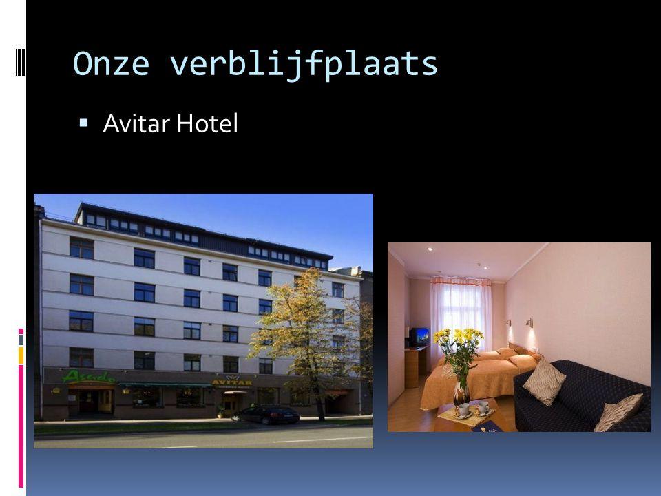 Onze verblijfplaats  Avitar Hotel
