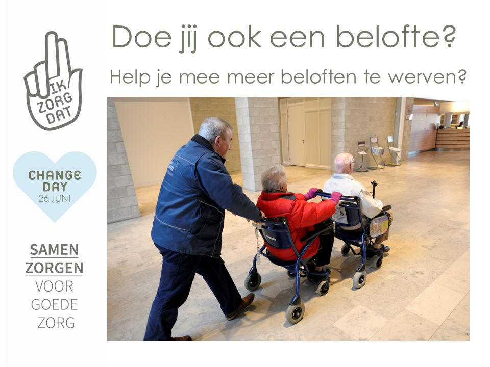 Volg @ChangedayNL en Facebook Change Day NL en doe actief mee!