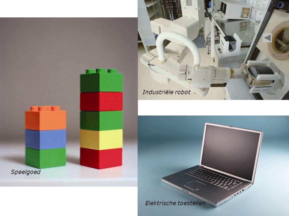 Elektrische toestellen Speelgoed Industriële robot