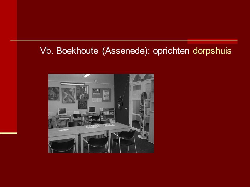 Vb. Boekhoute (Assenede): oprichten dorpshuis