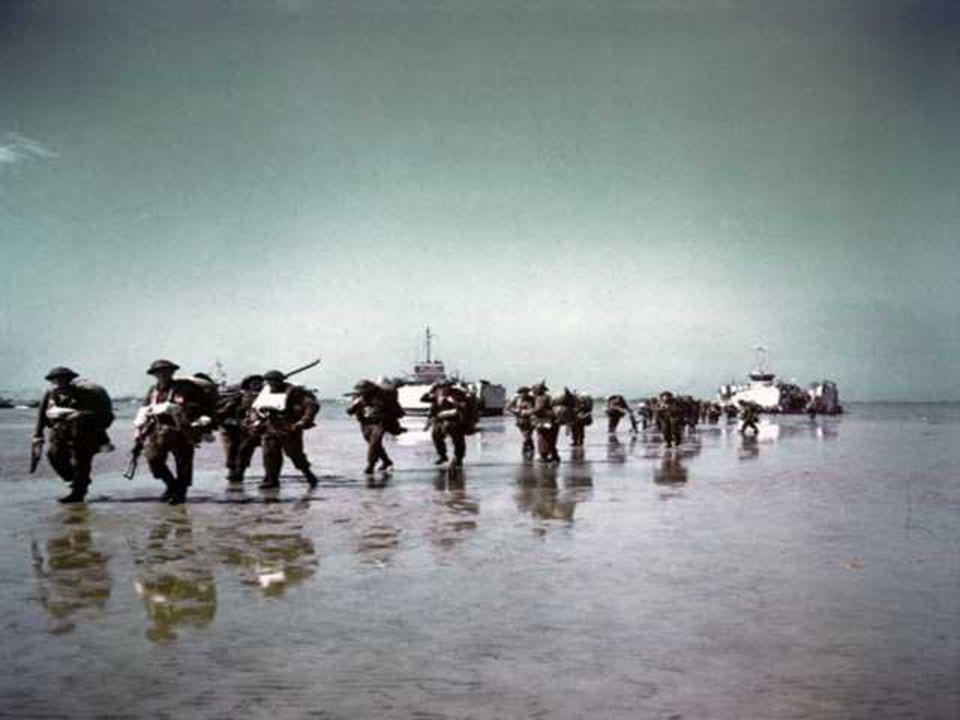 Gold Beach is de codenaam gegeven aan de sector toegekend aan het XXXe Britse korps.