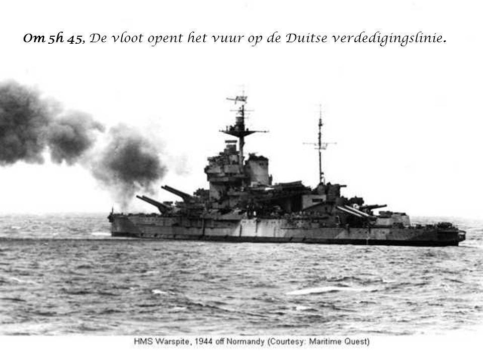 De geallieerde armada die het kanaal oversteekt in de nacht van 5 op 6 juni telt niet minder dan 4 300 boten van alle grotes (zonder de 2 600 sloepen te tellen die op de grote vrachtschepen waren geladen, en die ontscheept werden in de nabijgheid van de kust).