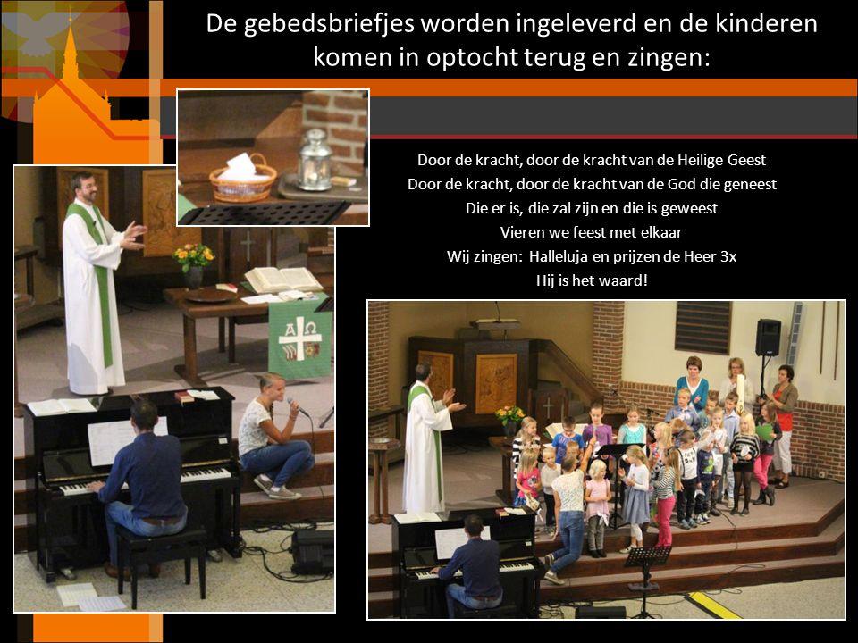 we herdenken: Dieuweke Groendijk – Dam (Didy) 21 december 1921 - 10 september 2013 Abba Vader, U alleen, U behoor ik toe In het gebed worden alle ingeleverde gebedsbriefjes gebeden.