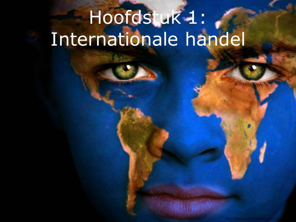 Internationale handel Uitvoer Het kopen van goederen en diensten door (de mensen en bedrijven in) het buitenland in een bepaald land.