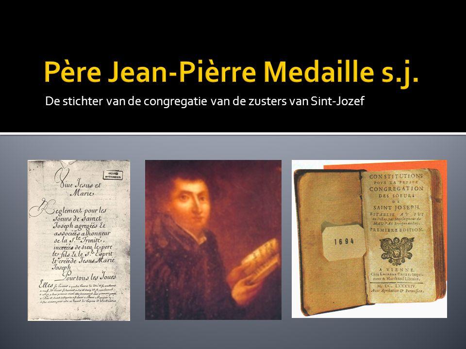 De 17 de eeuw, de gouden eeuw, bracht ook diepe ellende, zowel materieel als geestelijk Jean-Pierre Medaille trachtte de mensen hoop te geven; hij ontmoette bezielde vrouwen