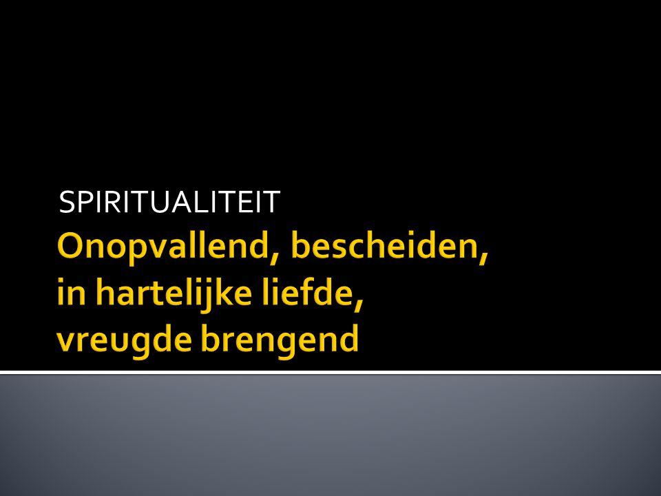 SPIRITUALITEIT