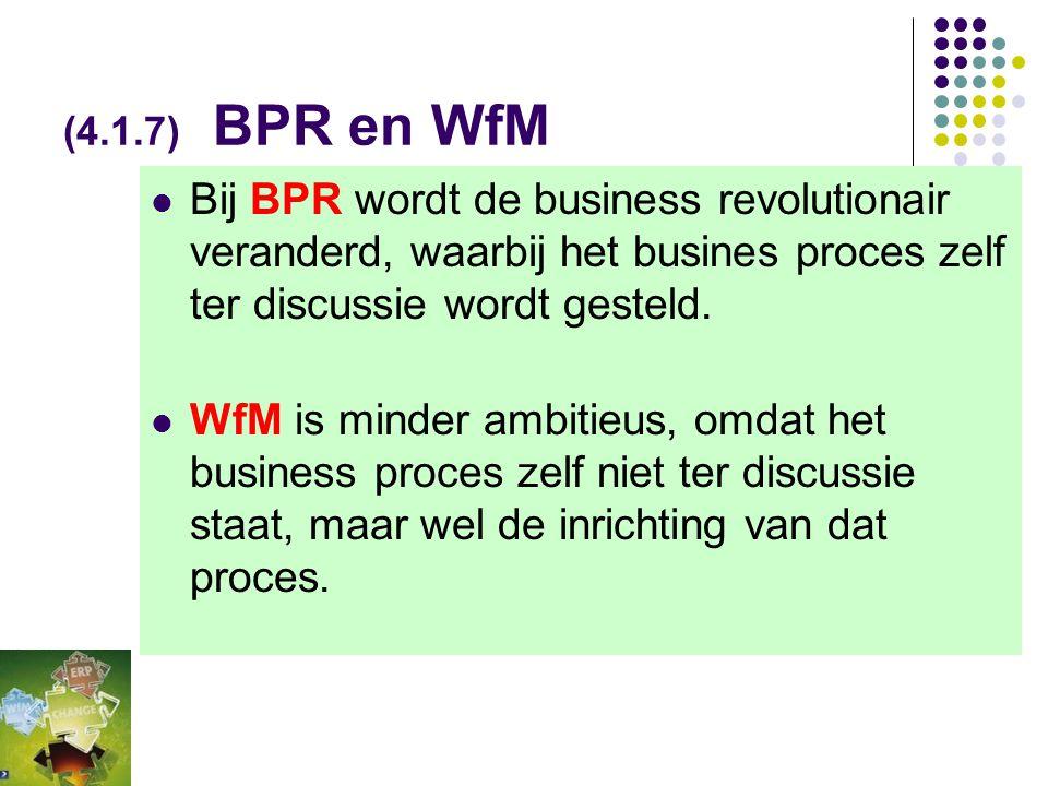 (Tabel 4-2) Groupware versus Workflow  Ad hoc  Sturing door de gebruiker  Documentgeoriënteerd  Gericht op groepsprocessen  Communicatie staat ce