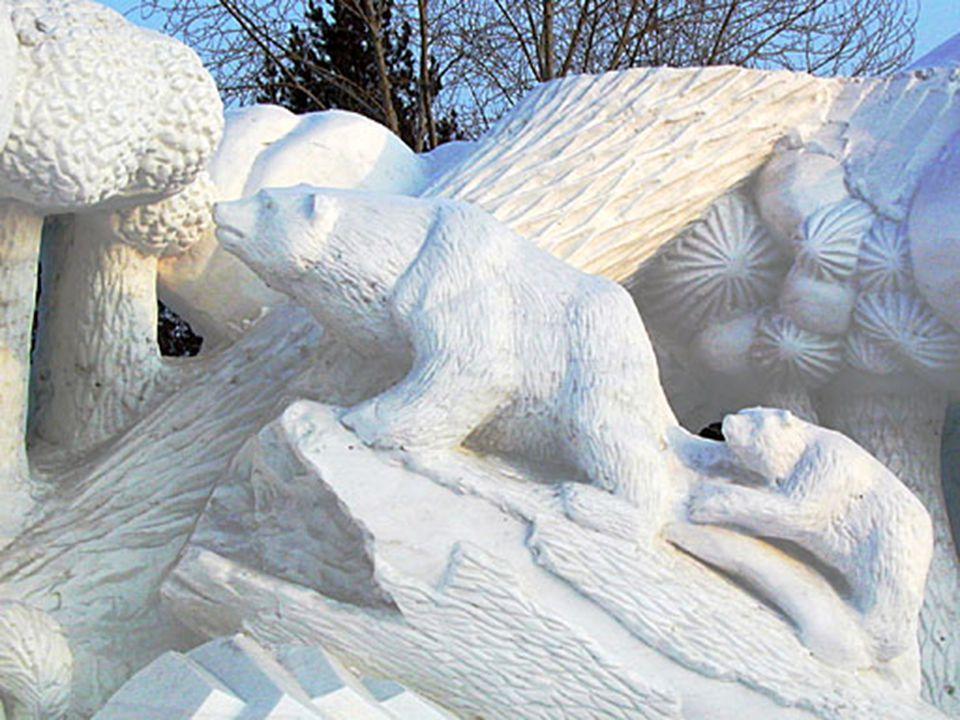 •Het realiseren van sneeuw- en ijssculpturen vindt zijn origine reeds in de Manchu-tijden, maar de eerste tentoonstelling werd gehouden in 1963. Het j