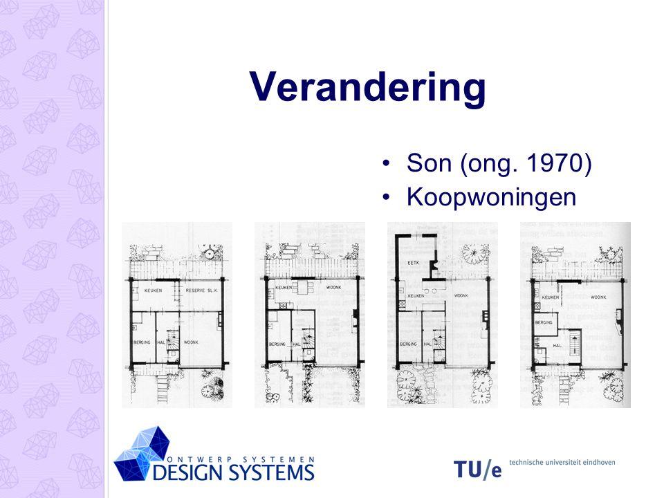 Architectuur & verandering •Rietveld- Schroder huis (1924) •Gerrit Rietveld