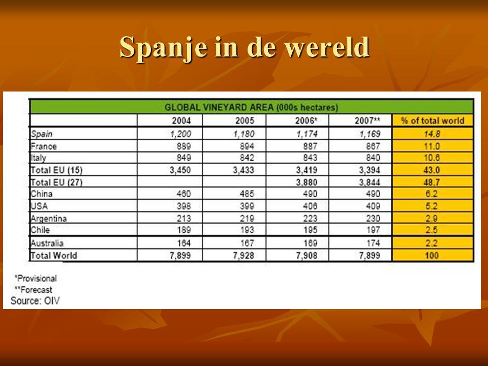 Spanje appellaties: 70 DO's