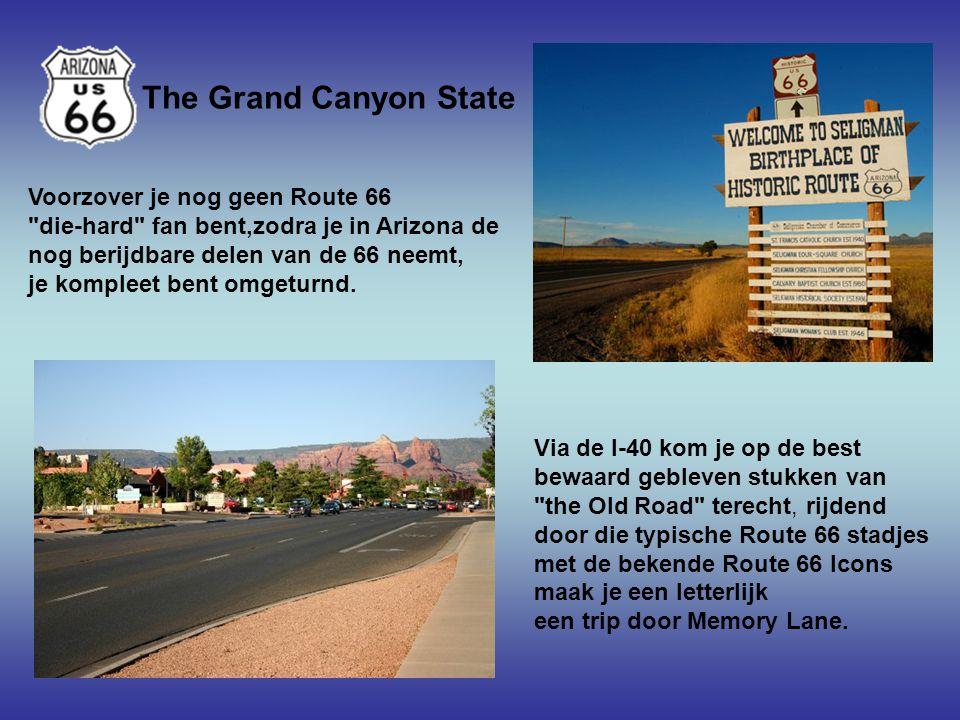 In Albuquerque voert de Route 66 dwars door het centrum van deze prachtige stad heen.