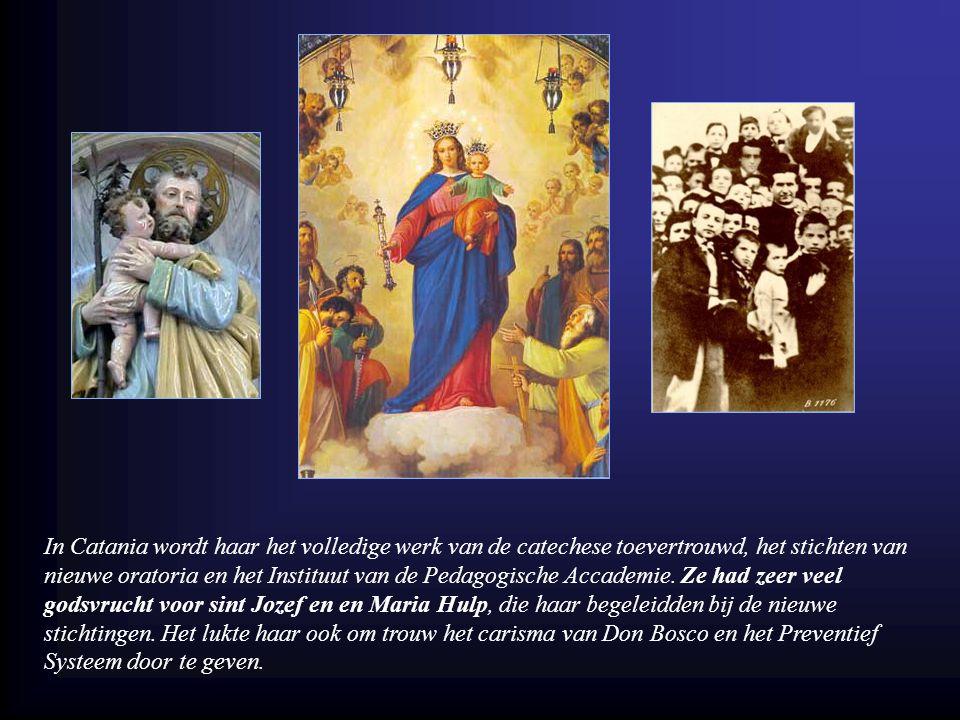 Aangetrokken door haar apostolische ijver en het gemeenschapsklimaat duiken er vele roepingen op.