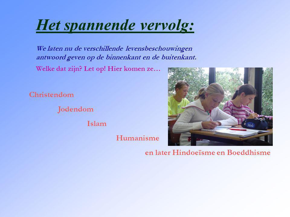 Dit zijn je toekomstige docenten levensbeschouwing: J.J. Visser Drs. H.G. Schep S. Kleppe
