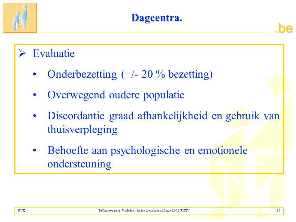 .be Dagcentra.