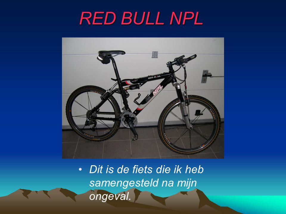 •D•Dit is de fiets die ik heb samengesteld na mijn ongeval.