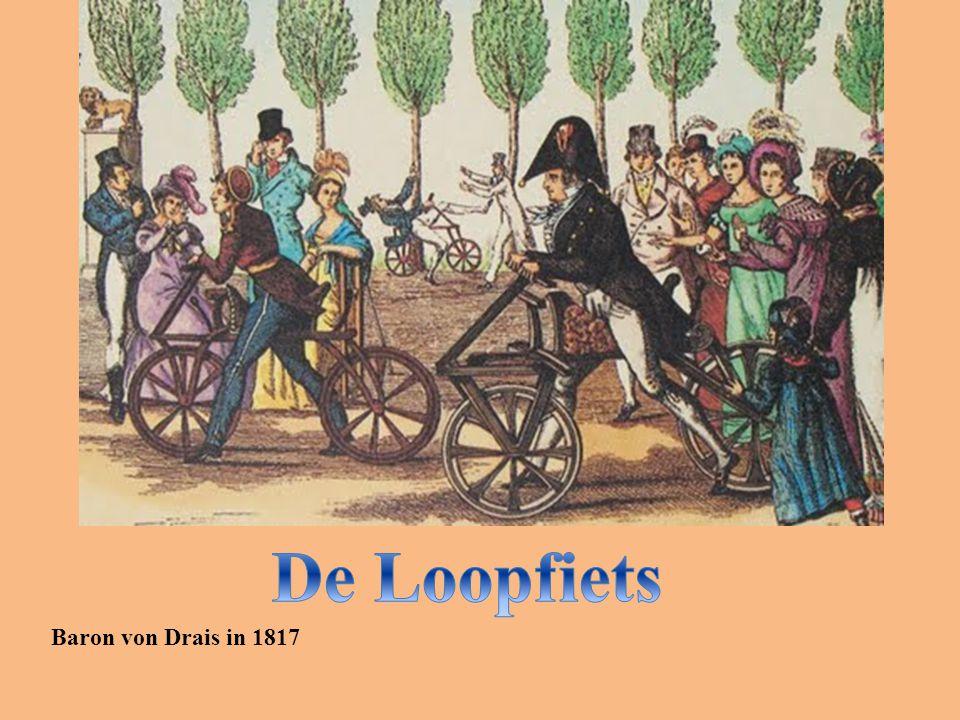 Baron von Drais in 1817