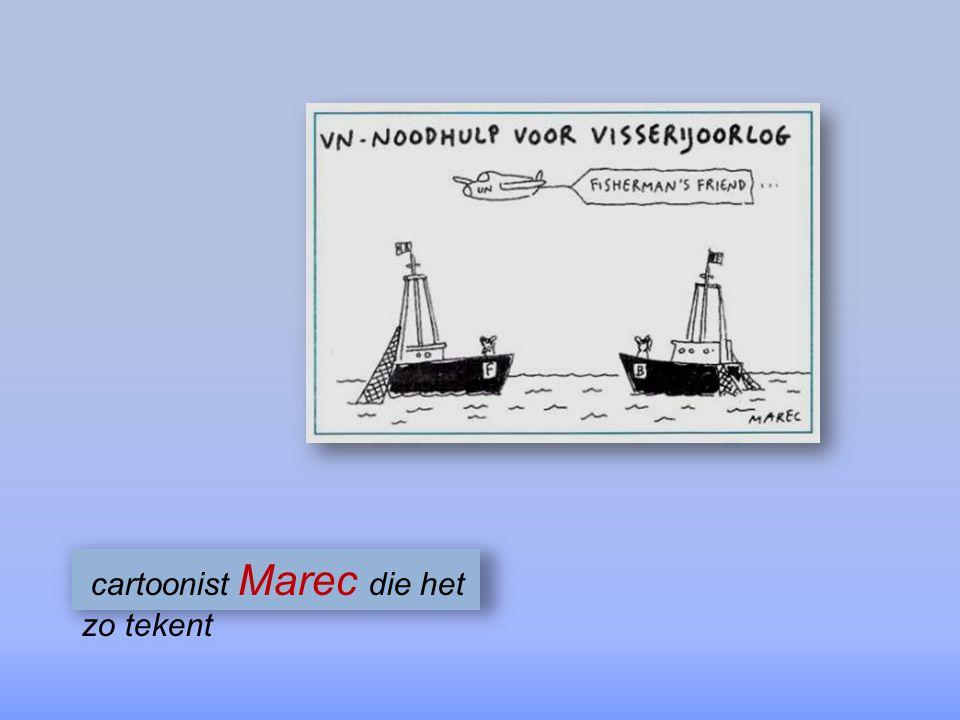 Dienst Zeevisserij kustschippers M.Van Elslande & L.Mylle die de conflictzone op de zeekaart aanwijzen