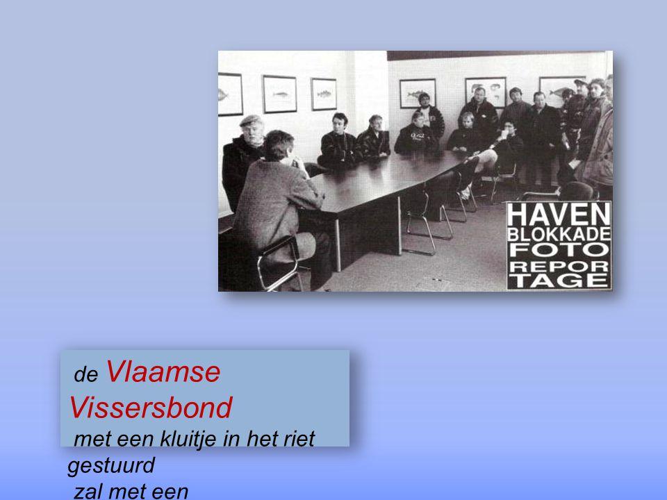 de Vlaamse Vissersbond stelt eisen en wil met visserijminister Pinxten praten