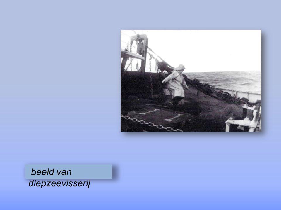 schipperreder Fernand Verleene aan de kuil schuddend