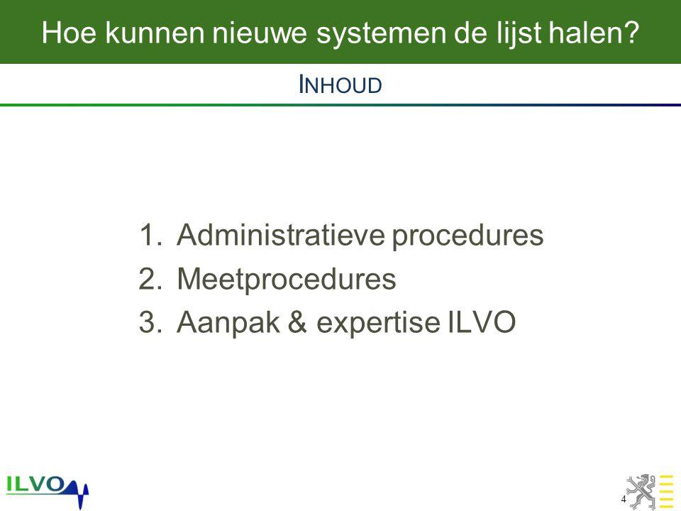 Aanpassing lijst stalsystemen voor AER 5 •Beschrijving systeem −Werkingsprincipes −Energie- & watergebruik, kosten,… •Technische specificaties –Uitvoeringsplannen •Niet beperkt tot NH 3 .