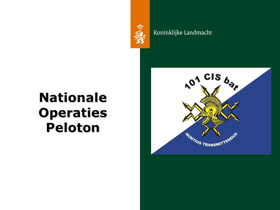 NationaleOperatiesPeloton