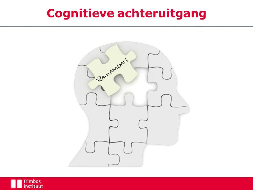 Cognitieve achteruitgang