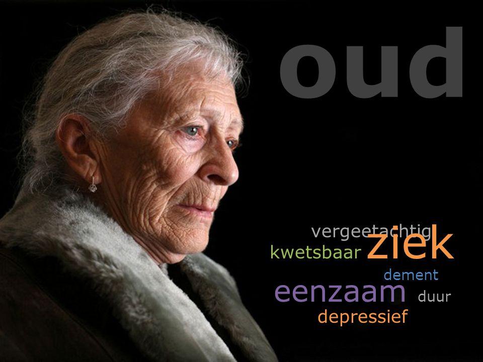 oud vergeetachtig kwetsbaar ziek dement eenzaam duur depressief