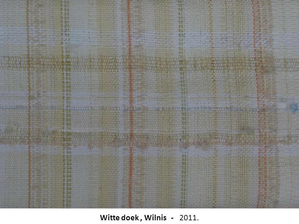 Witte doek, Wilnis - 2011.