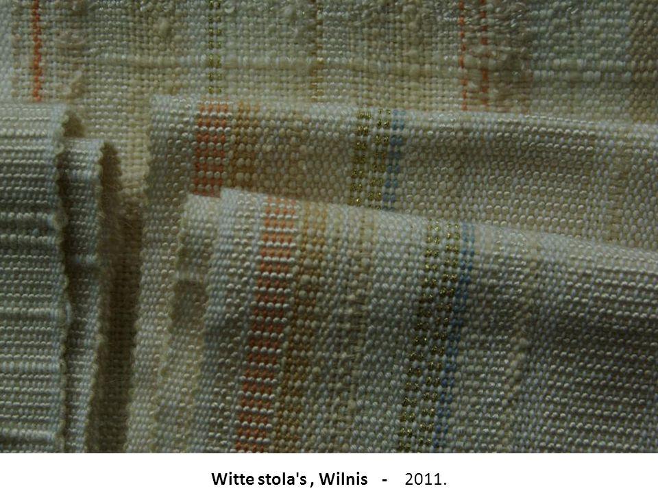 Witte stola's, Wilnis - 2011.