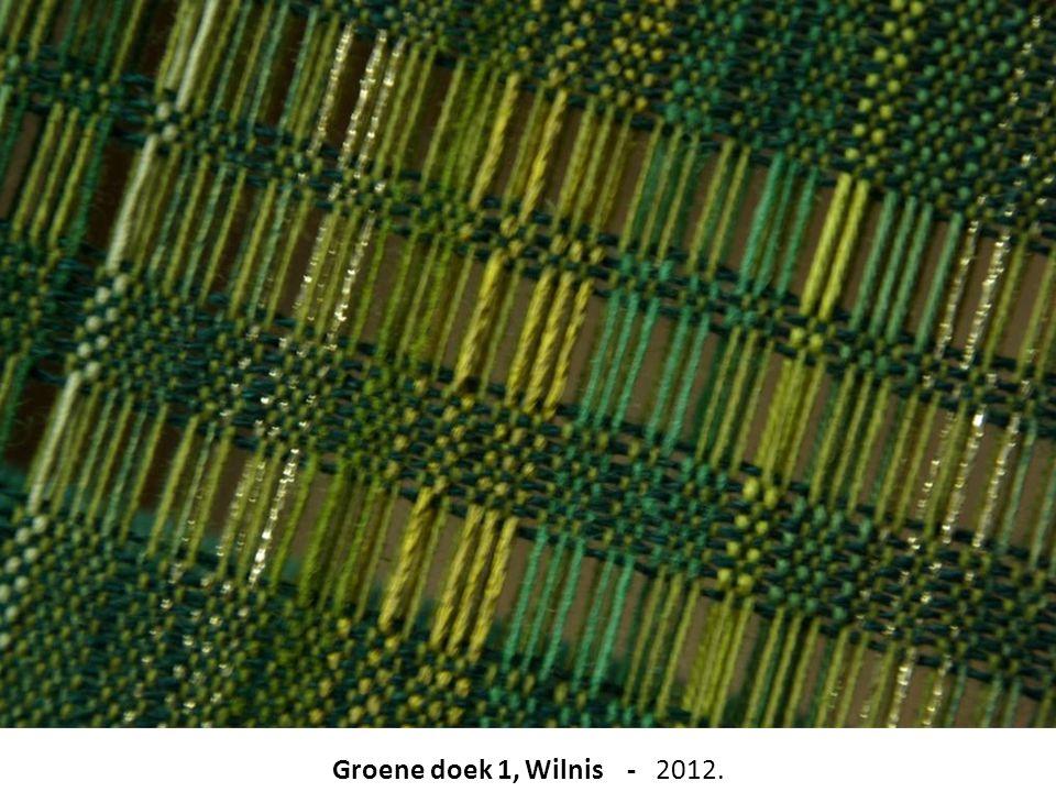 Groene doek 1, Wilnis - 2012.
