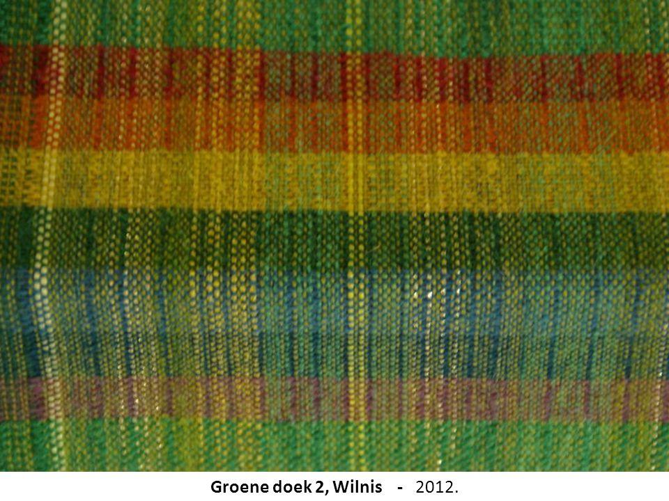 Groene doek 2, Wilnis - 2012.